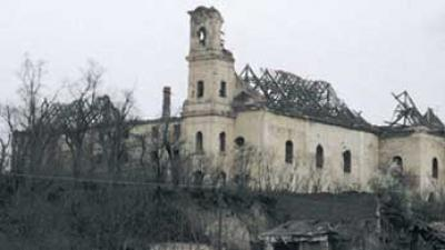 Built in 18th century in Vukovar, shelled and looted in autumn of 1991.