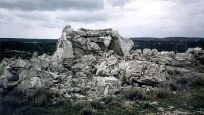 Built in 1985, blown up in the aftermath of Operation 'Storm' in August 1995.